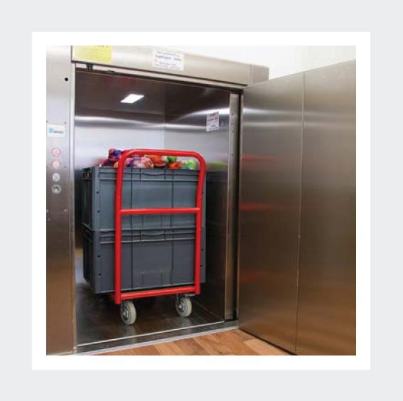 Грузовой лифт BKG грузоподъёмность 500 кг