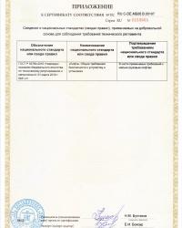 Малые грузовые лифты BKG — сертификат соответствия, стр.4